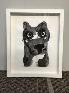 bad dog black and white