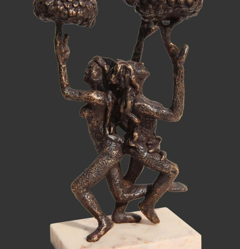 The Tree of Life, Bronze Sculpture,by Indian contemporary Artist