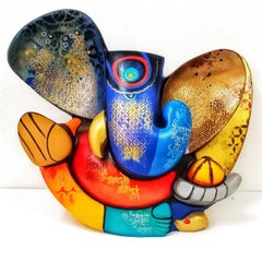 """Shoorpakarna, Acrylic on Canvas Fiber Glass by Contemporary Artist """"In Stock"""""""