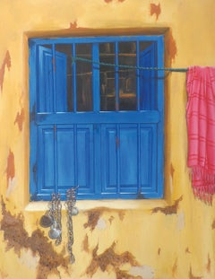 """Outdated, Acrylic on Canvas by Contemporary Indian Artist """"In Stock"""""""