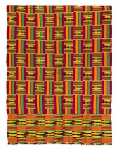 Kente Cloth Ashanti Tribe, Ghana