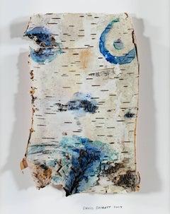 """""""Up North Birch Bark Series: Homage to Michelangelo Birch Bark Body"""""""