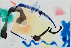 """Landscape with Sand Dune,"" original watercolor by David Barnett"
