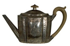 Teapot, Leopard's Head from London, King George III reign, John Emes