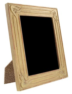 """Handmade 22K Gold Leaf Photo Frame,"" Wood 8 x 10 in made in Romania"