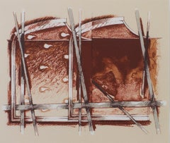 """""""Abstract,"""" Color Lithograph by Gerard Titus-Carmel"""