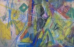 """""""Some More of Those Toothbrushes - Part 2,"""" Abstract Oil Pastel by Reggie K. Gee"""