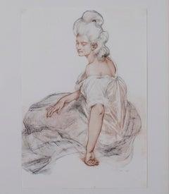 """Manomon (L'Estampe Moderne Volume I),"" Original Print by Rene-Cavier Prinet"