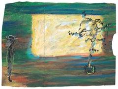 Reginald K. Gee Interior Drawings and Watercolors