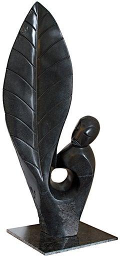 """My Spirit,"" original African (Shona) stone sculpture by Wilbert Samapundo"