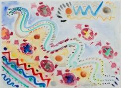 """Morph Dogs Celebrate Chinese New Year,"" watercolor by David Barnett"