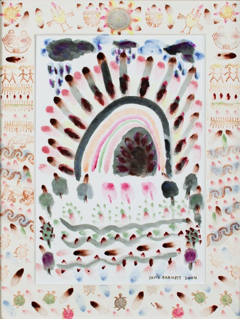 """Native American Southwest Series: Purple Rain Love the Earth,"" David Barnett - Art by David Barnett"