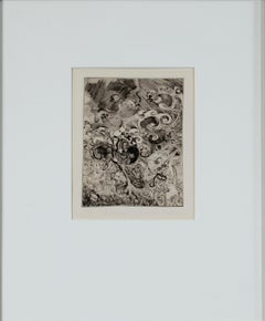 """""""Butter Bug,"""" Original Etching by Nicolee Teegarden"""