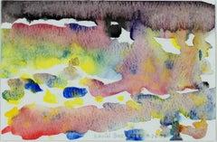 """Postcard Size Impression of Autumn at Star Lake..."" watercolor by David Barnett"