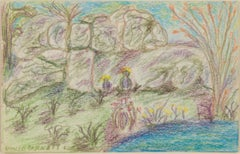 """""""View from the Boulders: The 5th Green, 11th Hole,"""" by David and Sarah Barnett"""