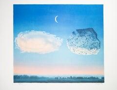"""""""La Bataille de l'Argonne (The Battle of Argonne),"""" Litho after Rene Magritte"""