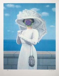 """La Grande Guerre (The Great War),"" Color Lithograph after Rene Magritte"