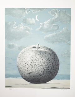 """Souvenir de voyage (Memory of a Journey)"" Litho after Painting by Rene Magritte"