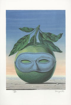 """Souvenir de Voyage (Memory of a Journey),"" Color Lithograph after Rene Magritte"