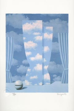 """La Peine Perdue (The Wasted Effort)"" Lithograph after Painting by Rene Magritte"