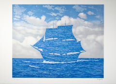 """Le Seducteur (The Seducer),"" Lithograph after Painting by Rene Magritte"