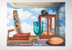 """Les valeurs personnelles (Personal Values),"" Lithograph after Rene Magritte"