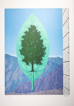 """""""Le Dernier Cri (The Last Word),"""" Lithograph after the Painting by Rene Magritte"""