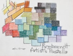 """Rembrandt Artist's Pastells"" original pastel drawing by Sylvia Spicuzza"