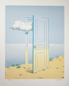 """""""La Victoire (Victory),"""" Color Lithograph after 1938-9 Original by Rene Magritte"""