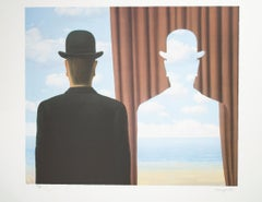 """""""Decalcomanie (Decalcomania),"""" Lithograph after 1966 Painting by Rene Magritte"""