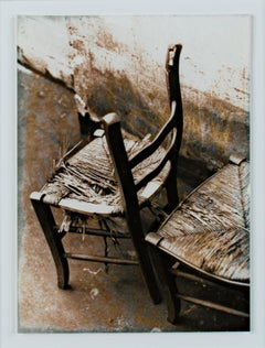 'Chairs - Paris' original photograph by Leslie Borns