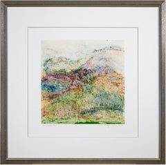 'The Lamoille Project #63' original monoprint signed by Mickey Myers