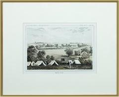 'Maple River' original color lithograph by John Mix Stanley