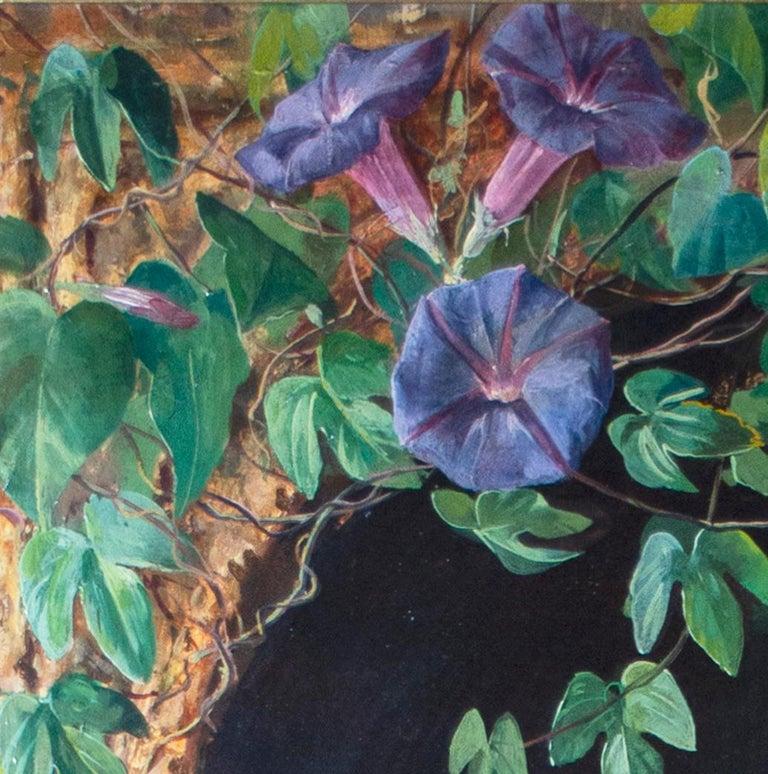 'Spanish Beauty at a Garden Window' by Adolfo del Águila y Acosta, orientalism For Sale 4