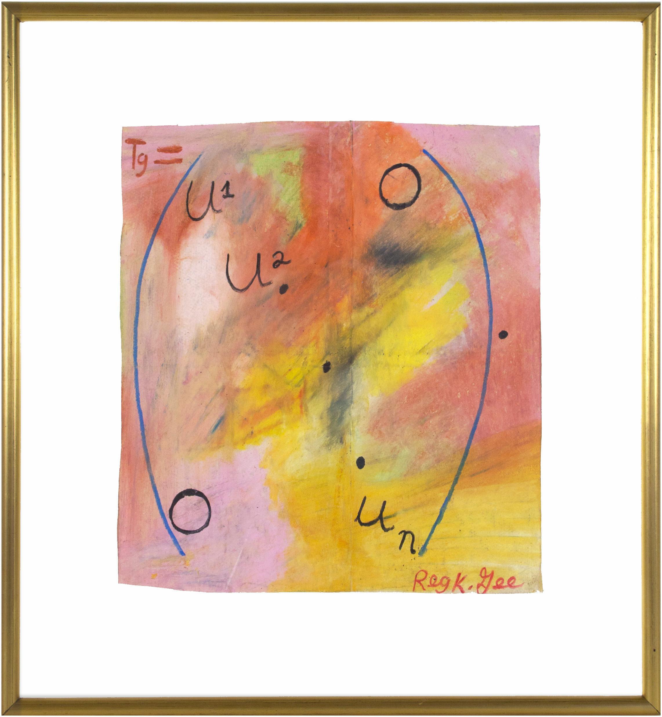 Reginald K. Gee Abstract Drawings and Watercolors
