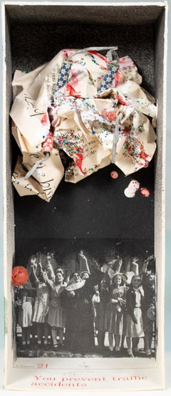'When Every Little Bit of Hope Is Gone' original assemblage by Joel Jaecks