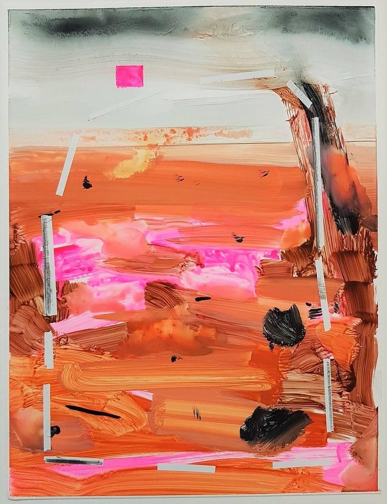 Russell Shoemaker Abstract Drawing - Untitled