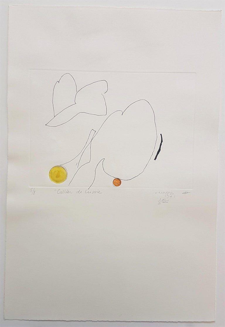 Le Collier de Lussie - Print by Marie Therese Vacossin