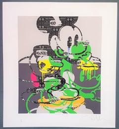 Deconstructed Mickey (Pop Art, Street Art)