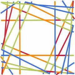 Untitled Geometric Composition (Minimalism, Constructivism, Victor Pasmore)