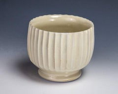 Carved Yellow Cup