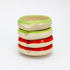 Dish (Red & Green)