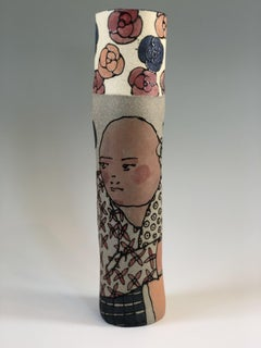 Two Figures on Cylinder