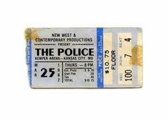 Concert Ticket (Police 1982)