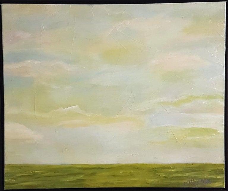 Jill Opelka Flint Hills Painting For Sale At 1stdibs