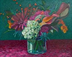 Hydrangeas and Lilies