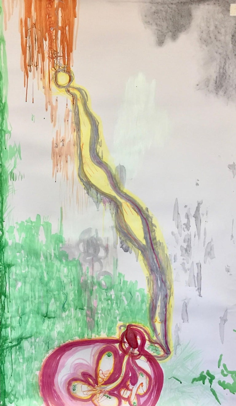 Kory Twaddle Abstract Painting - Blue Springs Drive Biogram