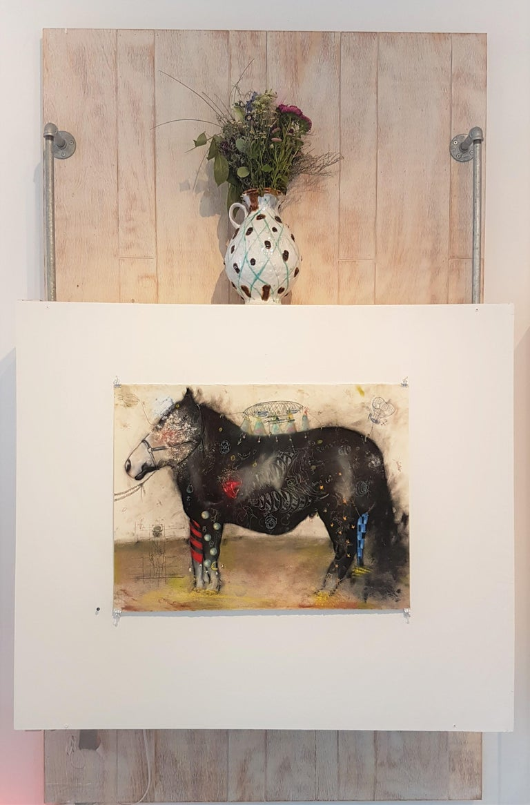 Larry, The Show Pony - Contemporary Art by Joseph Broghammer