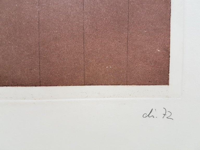 Vorfuehrung - Modern Print by Hans Juergen Diehl