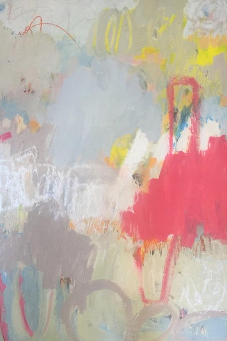 Katherine Bello Abstract Painting - So Damn Happy